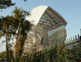 Korespondencja z Paryża, część I: La Fondation Louis Vuitton i wystawa Franka Gehry'ego w Centre Pompidou