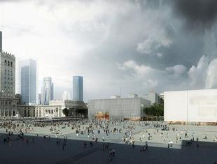 Plac Centralny - konkurs na nową przestrzeń publiczną Warszawy