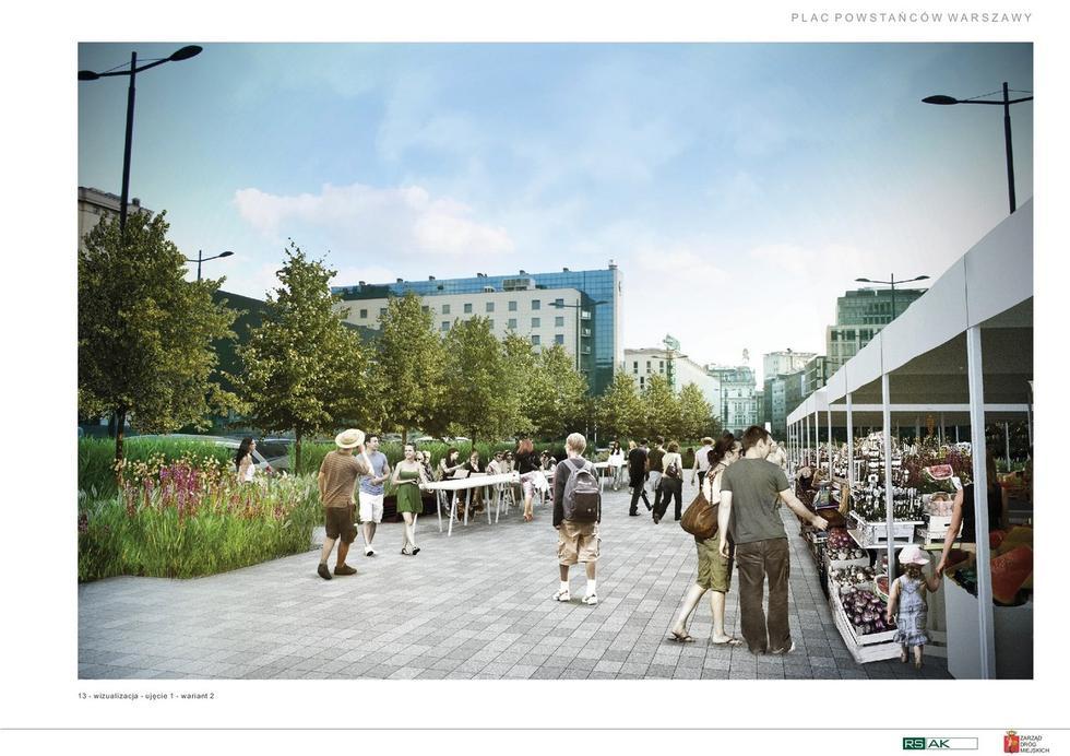 Śródmieście Warszawy odNowa – wiemy, jak będzie wyglądać plac Powstańców i ulica Świętokrzyska